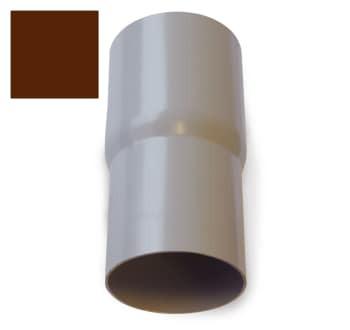 Image of   Plastmo 90 mm Samlemuffe brun