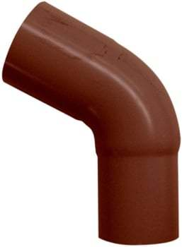 Image of   Plastmo 90 mm x 60° Bøjning brun