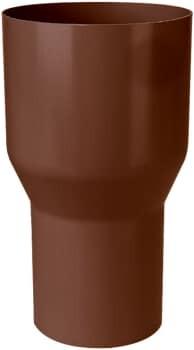 Image of   plastmo 90 mm x 75 mm Overgang brun