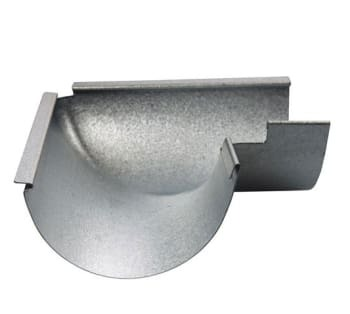 Image of   Plastmo aluzink gering no 11 90° udv
