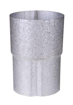Image of   Plastmo aluzink rørsamlemuffe 90 mm