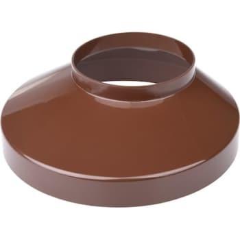 Image of   Plastmo brøndkrave 90 mm brun 130 mm