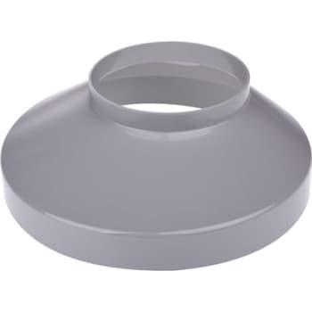 Image of   Plastmo brøndkrave 90 mm grå 130 mm