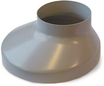 Image of   Plastmo Brøndkrave Grå 75 mm