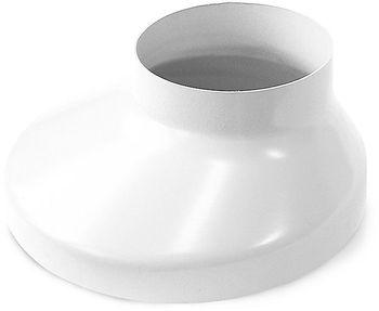 Image of   Plastmo Brøndkrave Hvid 75 mm