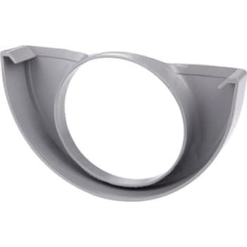 Image of   Plastmo endebund med hul 11/75 grå