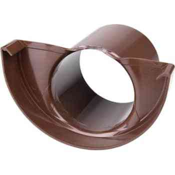 Image of   Plastmo endebund med tud 11/75 brun