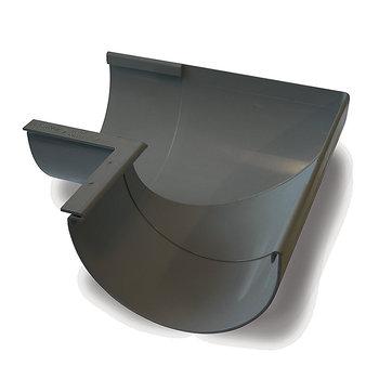 Image of   Plastmo Indvendig Gering 90° 11`` Grafit