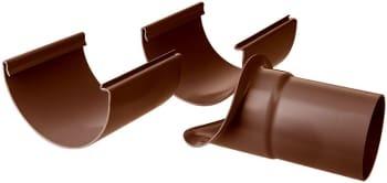Image of   Plastmo justerbart tudstk. 12/75 brun