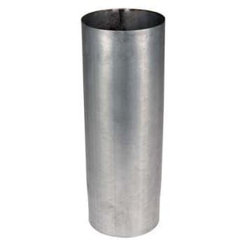 Image of   Plastmo lige nedførsel stål plus 75 mm