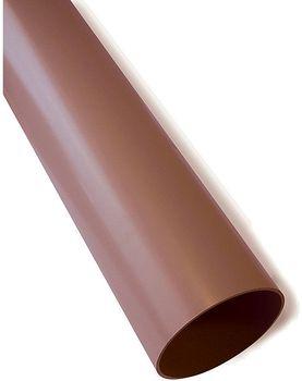 Image of   Plastmo Nedløbsrør Brun 75 MM 6 meter