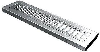 Unidrain rustfri sæbehylde column design 315mm x 85mm