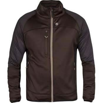 FE Engel fleece cardigan sort/grå, 2xl