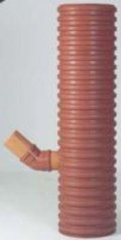 Uponor Rendestensbrønd 315-160mm, korr. 35 liter, m/vandlås, Uponor