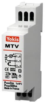 Yokis lysdæmper f/din mtv500m