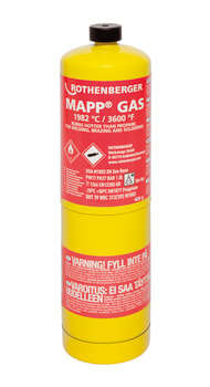 "Rothenberger mapp gas med 1"" us gevind"