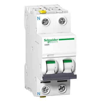 Billede af Schneider Electric automatsikring c 1p+n 16a 6ka