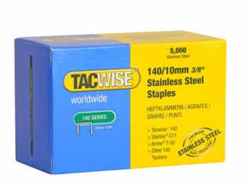 Tacwise hæfteklamme 140/10 mm rustf.