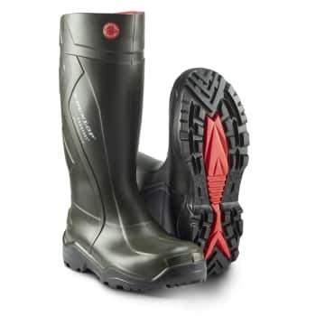 Dunlop pu gummistøvle tpu/s5 str. 42