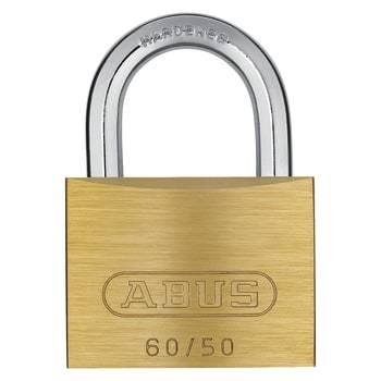 Image of   Abus hængelås messing 60/50