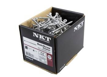 NKT Fasteners basicscrew outdoor 5,0x50/35