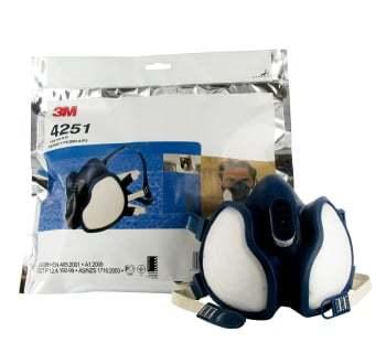 Image of   3M halvmaske med filter ffa1p2d