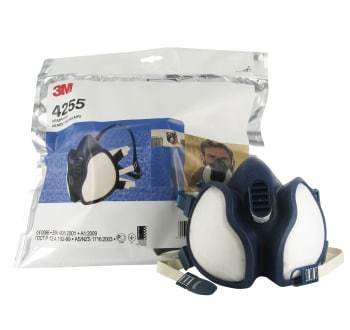 Image of   3M halvmaske med filter ffa2p3d