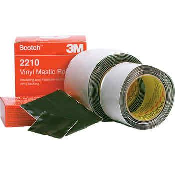 Image of   3M Tape 2210 vm 100mm x 3m sort (10 stk)