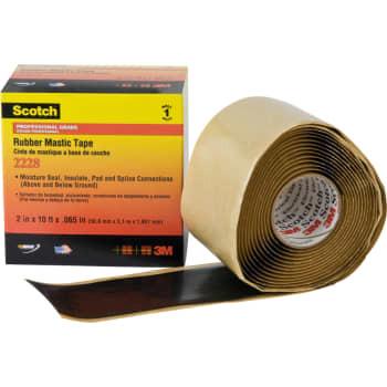 Image of   3M Tape 2228 25mm x 3m m/gummiryg (12 stk)