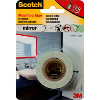 Image of   3M Tape dobbeltklæb. 19mm x 1,5m