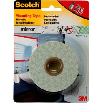 Image of   3M Tape dobbeltklæb. 19mm x 5m (12 stk)