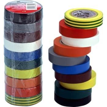Image of   3M Tape temflex 15mm x 10m lilla (10 stk)