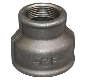 "Image of +GF+ 1.1/2""x1/2"" sort formmuffe"