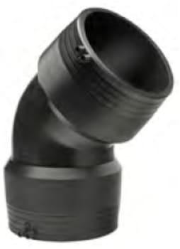 Image of   +GF+ 200mm gf vinkel 45° sdr11 pn16
