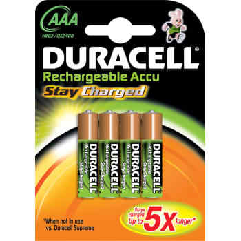 Duracell Batteri staycharge aaa lr03 (4
