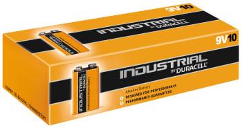Duracell batteri industrial 9v 6lr61 10