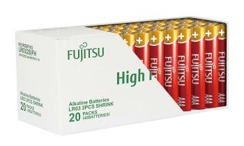 Batteri fujitsu aaa high 40stk