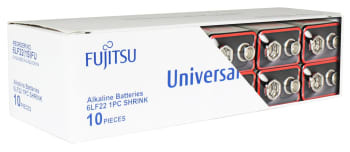 Batteri fujitsu e/ 9v 10stk