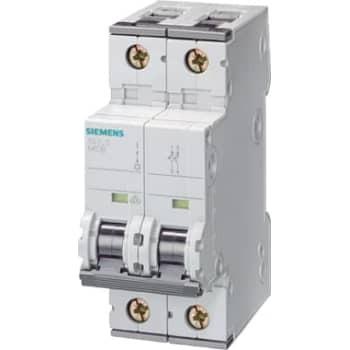 Siemens Automatsikring c 6a 2p 6ka