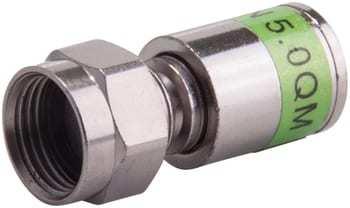Triax f-connector compr cx3 5.0 qm