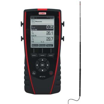 Image of   Elma varmetrådsanemometer vt210tf