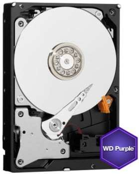 Image of   ADI Alarm System harddisk wd20purx purple 2tb