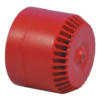 Image of   ADI Alarm System lydgiver roshni 1992-230r rød