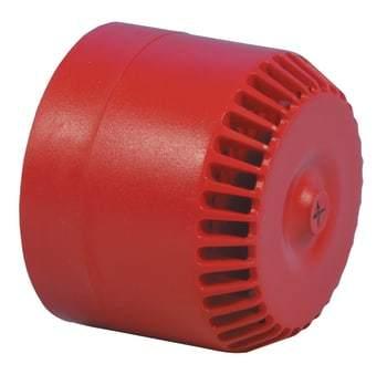 Image of   ADI Alarm System lydgiver roshni lpr 9-28v rød