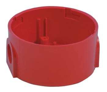 Image of ADI Alarm System sokkel høj f/roshni 1992 rød