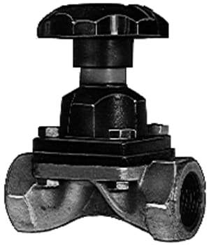 "Image of   3/4"" saunders ventil galv."