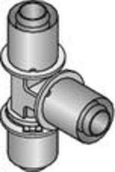 Uponor ppsu pres tee 20mm