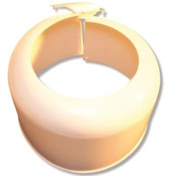 Purus plast dækkapsel hvid