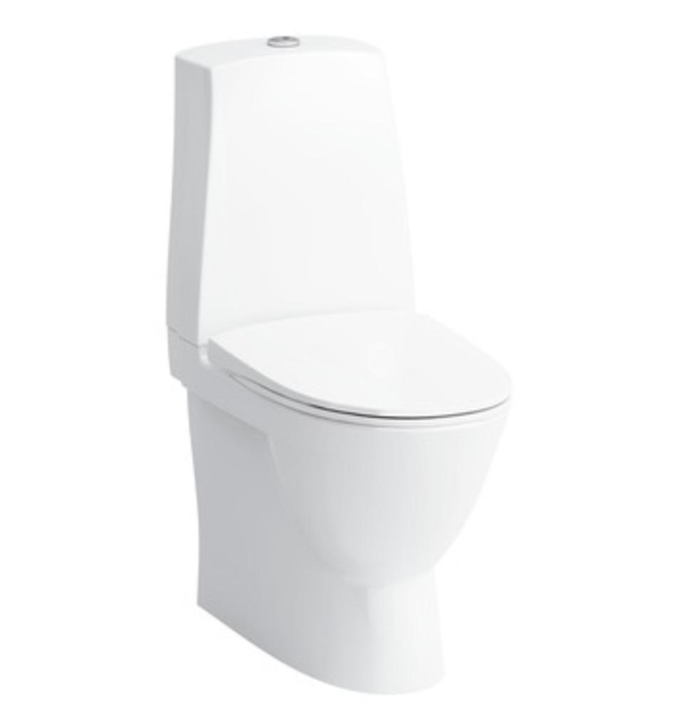 toilet med p vandlås