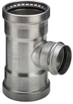 Image of   108,0mm sanpress inox t-stykke
